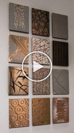 Diy Canvas Art, Diy Wall Art, Diy Wall Decor, Diy Art, Mural Wall Art, Wall Art Sets, Large Wall Art, Mur Diy, Cuadros Diy
