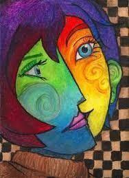 Bildergebnis für picasso kubismus gesicht