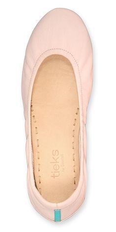 Ballerina Pink Tieks. #tieks #flats