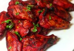 Indian Tandoori Chicken Wings