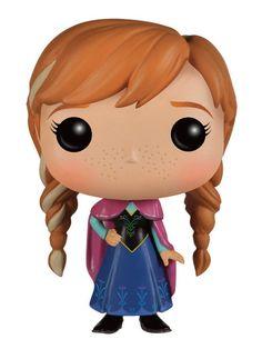 Frozen Die Eiskönigin - Völlig unverfroren POP! Vinyl Figur Anna 10 cm Disney - Hadesflamme - Merchandise - Onlineshop für alles was das (Fan) Herz begehrt!