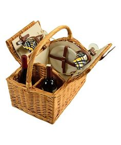 4d36ad731 Vineyard Two-Person Picnic Basket  zulily  zulilyfinds Picnic At Ascot