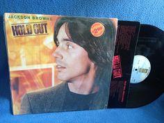 Vintage Jackson Browne  Hold Out Vinyl LP Record by sweetleafvinyl