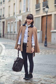Zalando Cape, Alexander Wang Diego Bucket Bag | Parisian walkways (by Valentine Hello) | LOOKBOOK.nu