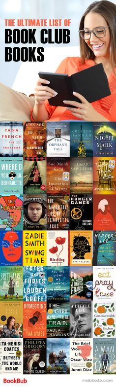 The ultimate list of book club books that everyone in your book club is sure to love. Including a great list of books for women to read 2017.
