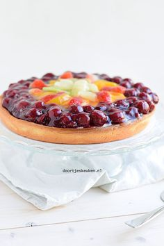 Apple Cake Recipes, Tart Recipes, Fruit Flan, Moist Apple Cake, Pie Tops, Dutch Recipes, Cake Cookies, Cheesecake, Food And Drink