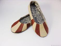 Кожаные балетки , тапочки,домашняя обувь – купить в интернет-магазине на Ярмарке Мастеров с доставкой - FF7CXRU