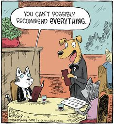 """Dave Coverly, the creative mind behind this one-panel comic strip, says Speed Bump depicts the """"movie of life. Cartoon Dog, Cartoon Pics, Political Cartoons, Funny Cartoons, Animal Jokes, Funny Animals, Speed Bump Comic, Dog Comics, Hysterically Funny"""