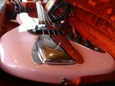I touched one once, I was told to stop touching what I could not afford - 1964 SHELL PINK FENDER JAZZ VINTAGE RELIC BASS