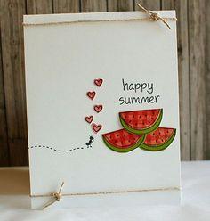 Lawn Fawn: Happy Summer and Ellen Hutson blog candy winner!