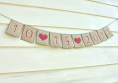 photo prop .... use this as a wedding anniversary party prop with the date of the wedding