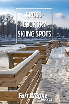 Discover local and state parks where you can cross-country ski in Fort Wayne, Indiana! Cross Country Skiing, Outdoor Adventures, Outdoor Fun, State Parks, Indiana, National Parks