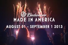 Jay-Zs Made In America Tour Returns, 2013 Line Up Revealed