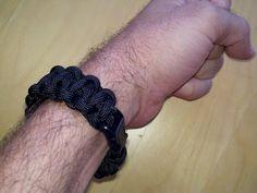 Paracord bracelets for hiking adventures.