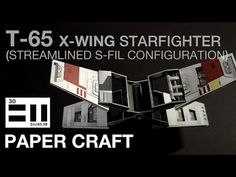 undefined Wing Wing, Starwars, Miniatures, Exterior, Detail, Youtube, Diy, Bricolage, Star Wars