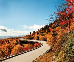 America's Best Fall Color Drives: Blue Ridge Parkway