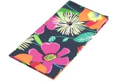 vera bradley jazzy blooms, pattern, napkins, bloom napkin, jazzi bloom