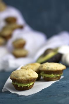 Mini Garlic and Chive Muffins - Make these to accompany meals of salad or soup. | WorthCooking.net