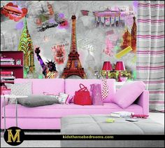 around the world themed bedroom | Around+The+World+Wall+Mural-Around+The+World+Wall+Mural.jpg