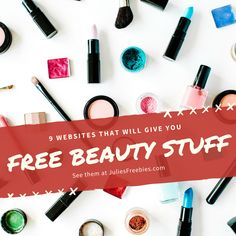 What's better than trying new beauty products? Trying new beauty products for free! Here are nine companies that will send you free samples in the mail. Free Beauty Samples, Free Samples, Beauty Box, Beauty Care, Lancome Makeup Remover, Freebies By Mail, Allure Beauty, Free Stuff By Mail, Facial Cream