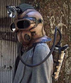 Artist Tom Banwell Creates Sci-Fi Face Armor trendhunter.com