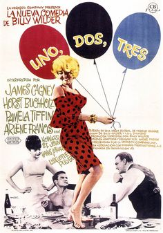 One, Two, Three movie poster (1961)