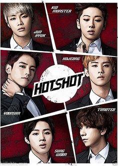 HOTSHOT - Take a Shot (Single) CD K-POP + GIFT