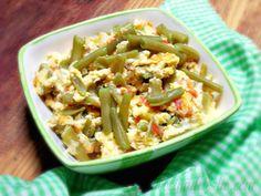 La Cocina de Leslie: Ejotes con Huevo {Green Bean Scramble}