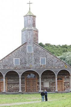 Chiloe's Church of St. Mary - one of UNESCO's 14 World Heritage site churches - was built before Darwin's arrival