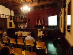 Book presentation, La Casa de Espana in Old San Juan