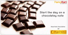 Everything Chennai! Ever gotten up from bed with an intense craving for something yummy to drive your spirits high? If yes, then you'll love us coz we bring you the delicious Assorted chocolates from My choco Chennai to your doorstep in Bangalore. #Chennai #Fomokart #Homedelivery #Bengaluru Order here - http://www.fomokart.com/bakery-and-chocolates/assorted-chocolate-happy-anniversary