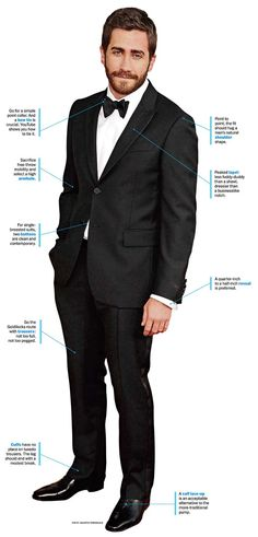 Jake Gyllenhaal the perfect tux