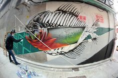 Looking Back at HKwalls Street Art Festival 2016 as HKwalls 2017 Nears: Okuda, Dmojo, Suiko, Egg Fiasco, Clogtwo, Colasa, Peeta, Faust & Roid