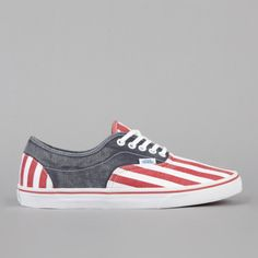 Cute! I would love to have these shoes for the summer. I've always had a thing for the red, white, and blue. :)