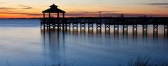 The Gazebo down on Bay drive.  10-15 minute walk from the house.  This link has some great info on the area as well.