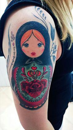 Russiandolls tattoo