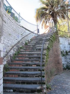 I have walked these steps in Savannah, Georgia and want to go back so badly!