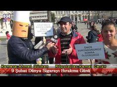 9 Şubat Dünya Sigarayı Bırakma Günü  Sokak Röportajarı