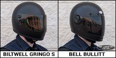 Biltwell Gringo S vs. Bell Bullitt Helmet