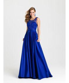 Noche romántica vestidos 2016 recién llegado de negro / rojo / azul Prom vestidos Scoop escarpado con lentejuelas brillantes Backless sin mangas del vestido
