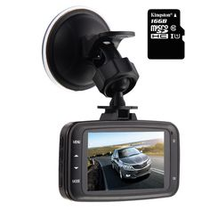 GS8000L Car DVR 1080P HD Traveling Driving Data Recorder Camcorder Vehicle Camera Night Version Dashboard Dash Cam With 140 Degree Angle View Black,Come with 16GB TF Memory Card. 2.7 inch TFT LCD preview screen.4X digital zoom. Support HDMI, AV-output, USB interface for video transmission to computer or high-definition television. High quality Lens: 140 degree lens 1920x1080 full HD resolution with 16G TF Card included. Supports G-sensor and motion detection,cycle recording.IR night…