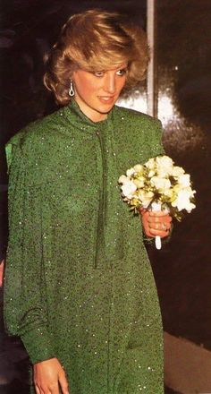 Diana during her second pregnancy (1984)