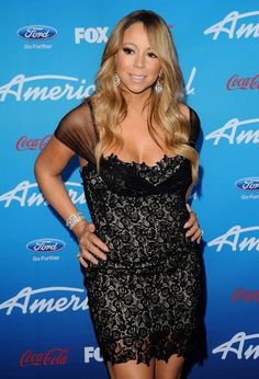 Mariah Carey Photos - American Idol Finalists Party..The Grove, Los Angeles, CA March 7, 2013 (Photo by Axelle Woussen).Pictured: Mariah Carey. - 'American Idol' Finalists Party
