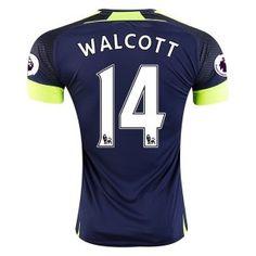 Arsenal FC Third 16-17 Season Soccer Shirt #14 WALCOTT Jersey [G348]