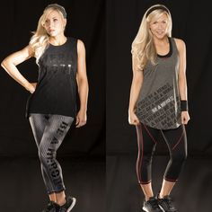 New Her Universe Black Widow clothing line! I was able to get the tank on the left and the pants on the right!