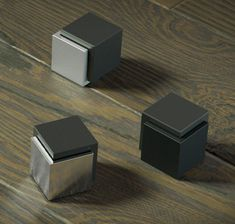 New modern style doorstop. Made from Stainless Steel. Available in Satin, Polished and Flat Black.