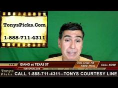 Idaho Vandals vs. Texas St Bobcats Pick Prediction NCAA College Football...
