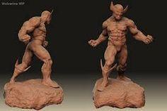 Resultado de imagen para wolverine sculpture