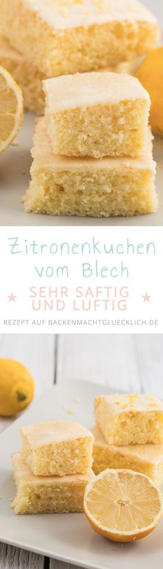 Fruchtig, saftig, fluffig und gelingsicher – was will man mehr? Dieser Zitronenk… Fruity, juicy, fluffy and successful – what more could you want? This lemon cake is just great! Baking Recipes, Cake Recipes, Dessert Recipes, Brunch Recipes, Breakfast Recipes, Food Cakes, Bolos Low Carb, Cakes And More, No Bake Desserts