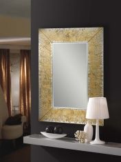 Espejo de Cristal/Pan de Oro : Modelo AURORA Rectangular